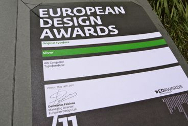 Retiro prizes: European Design Awards 2011, Club des DAs 2011