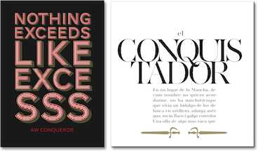 AW Conqueror free fonts — Typofonderie
