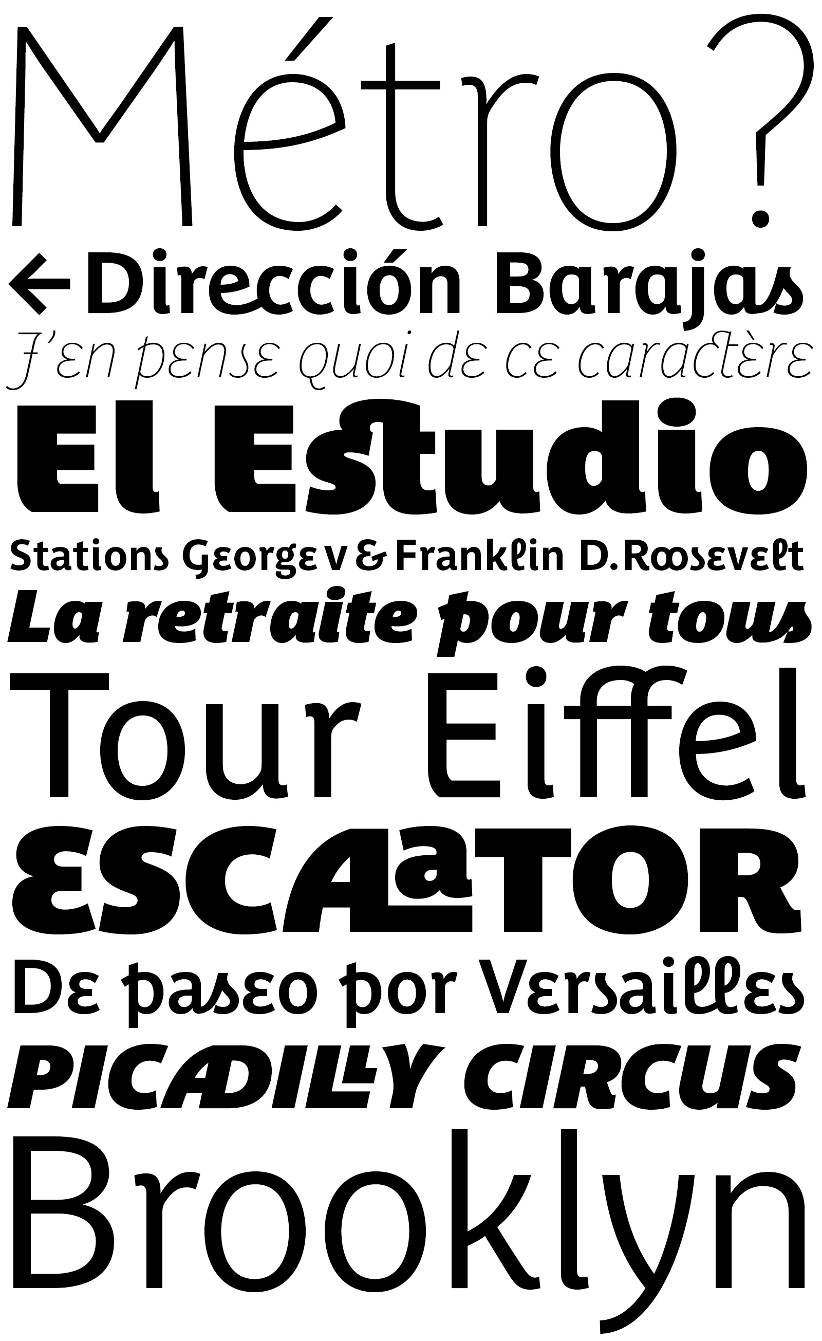 Parisine Plus by Typofonderie