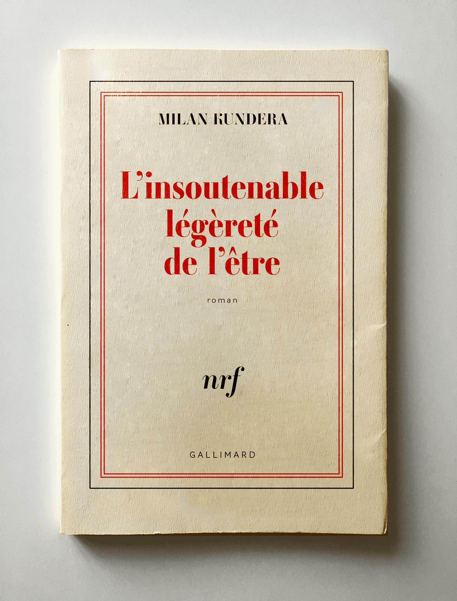 Project: Gallimard Milan Kundera