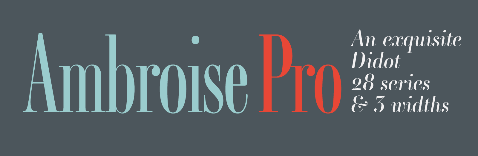 Ambroise Pro by Jean Francois Porchez, brought back to life: Fifteen years in the making!