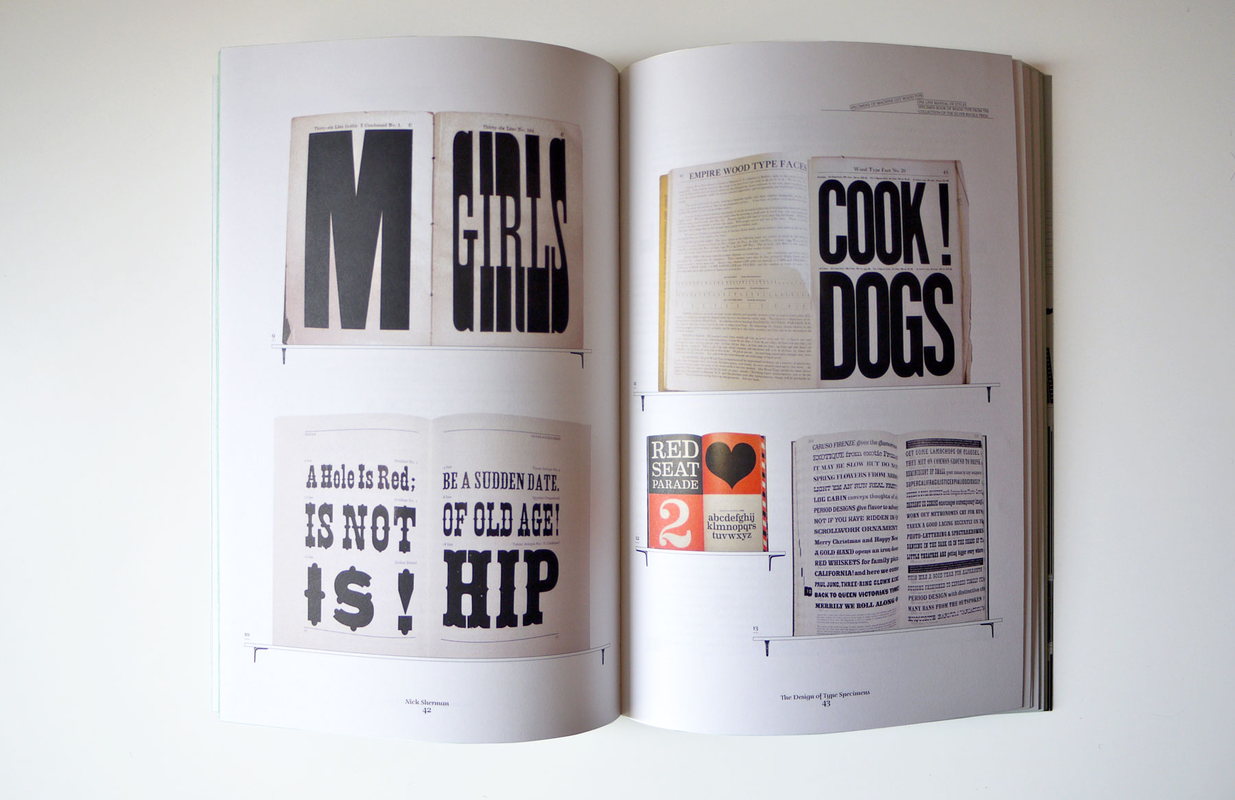 The Shelf Journal, Nick Sherman article on type specimens