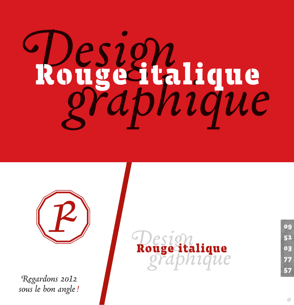 Xavier Dupre forthcoming typefaces in use