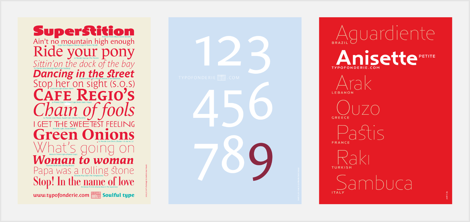 how to make a font catalog