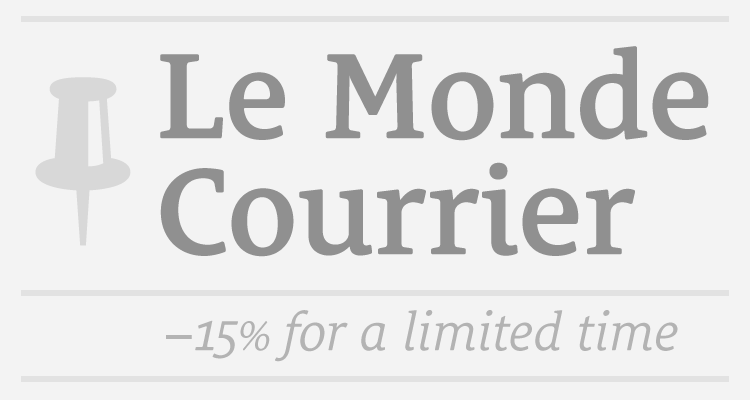 Buy Le Monde Courrier PRO or STD using coupon code 15_LMC