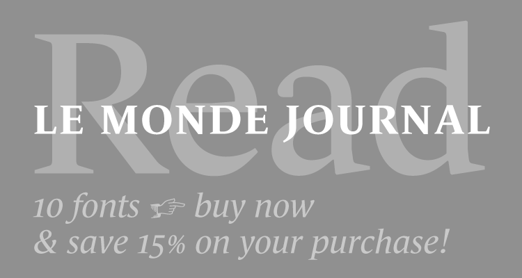 Buy Le Monde Journal using coupon code 15_LMJ