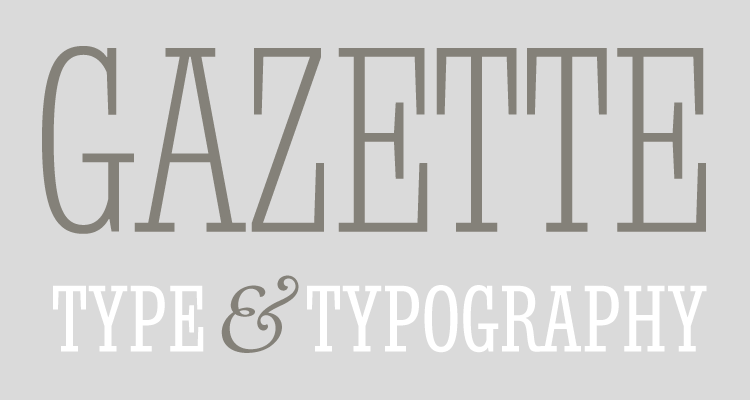 Blog Typofonderie about typography, typefaces, books and typographic design