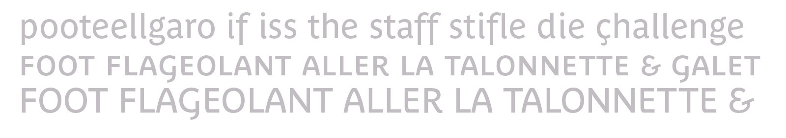 Parisine Plus OpenType features by Typofonderie