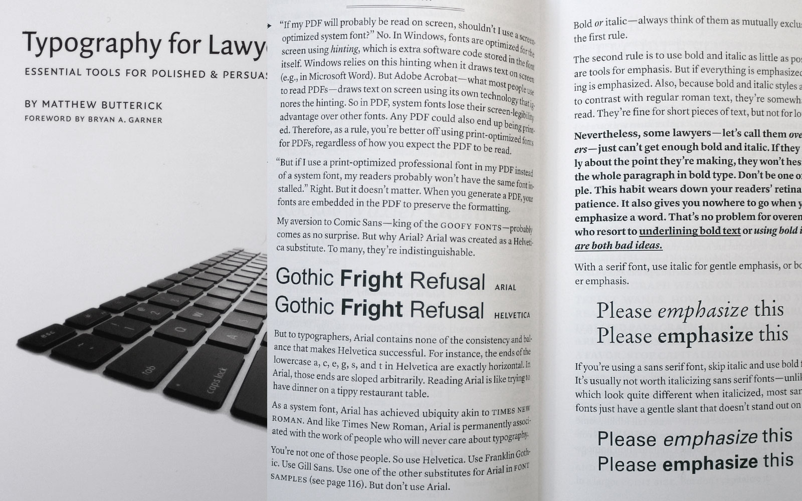 Typography for lawyers, essential tools for polished & persuasive documents