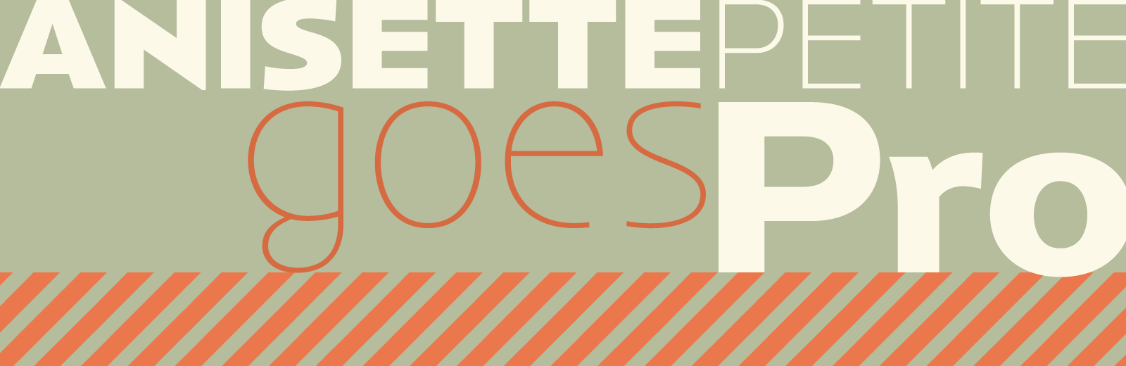 Anisette Petite available immediately into the OpenType Pro version at Typofonderie