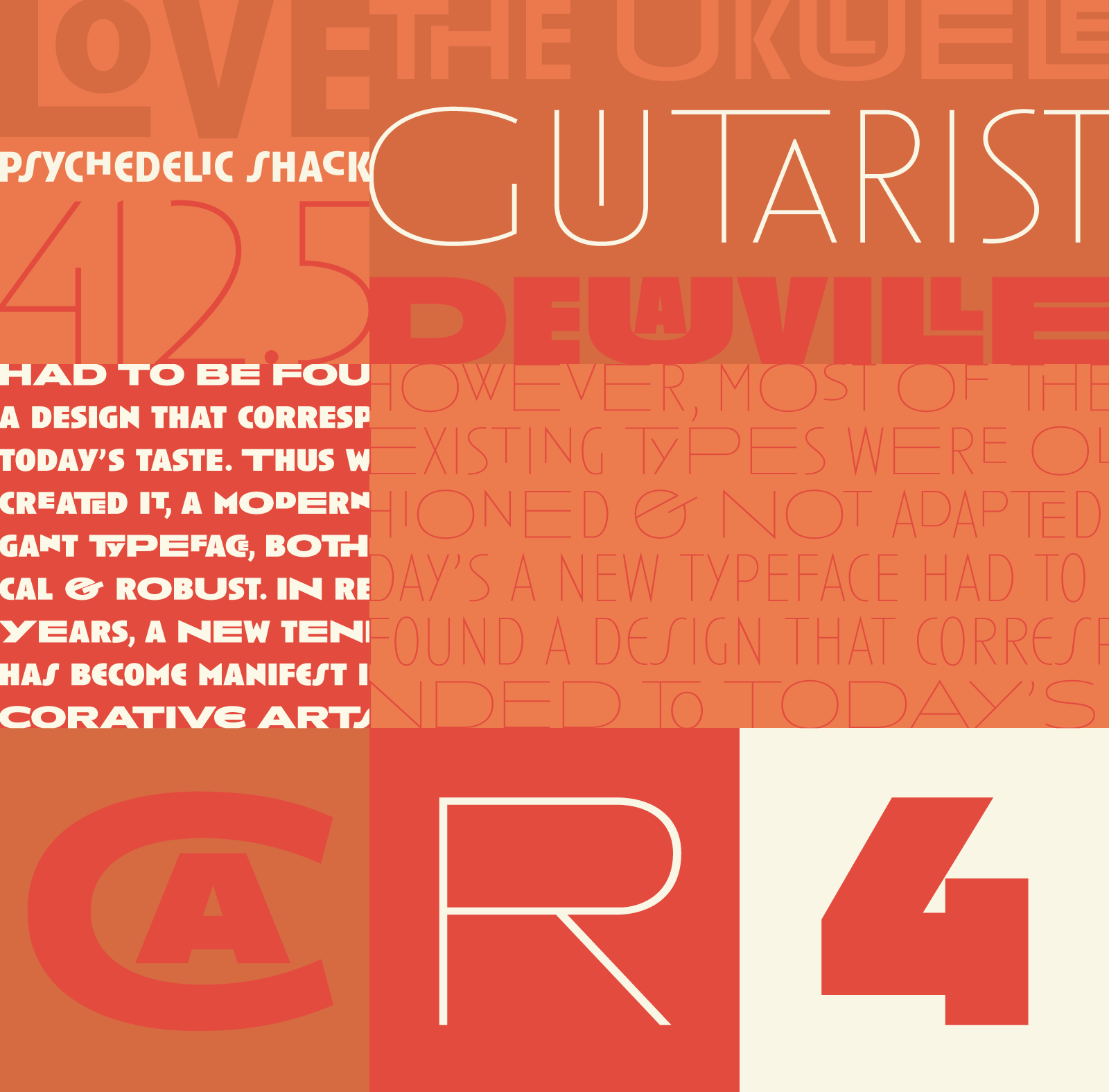 Anisette Pro, advanced easy to use typography