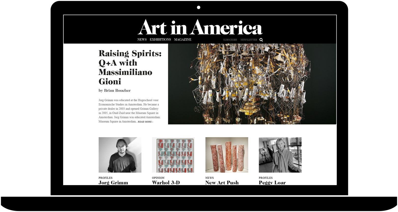 Stéphane Elbaz, Art in America website, 2013