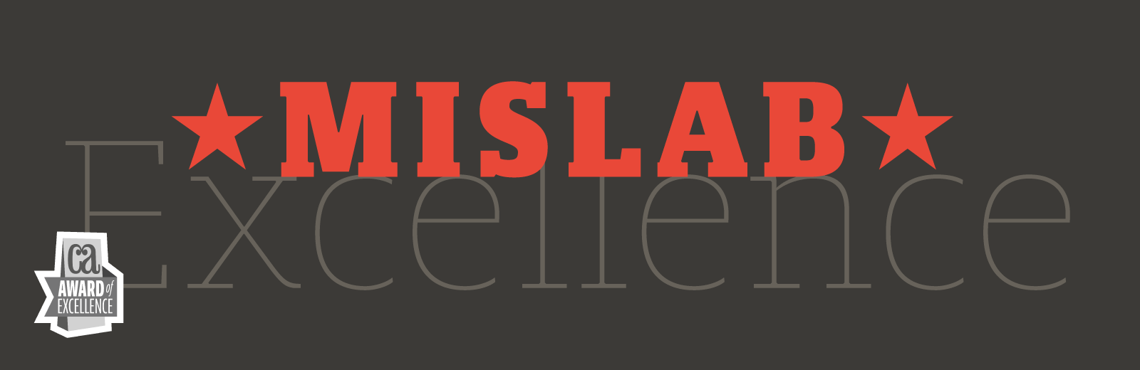 Mislab font by Xavier Dupré for Typofonderie - Communication Arts award 2014