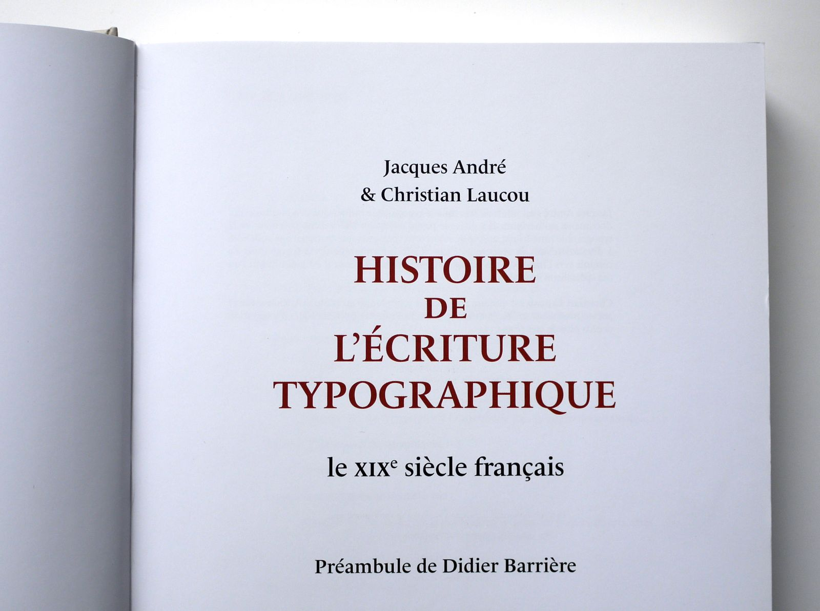 Typofonderie: History of typographic writing: the 19th century French style