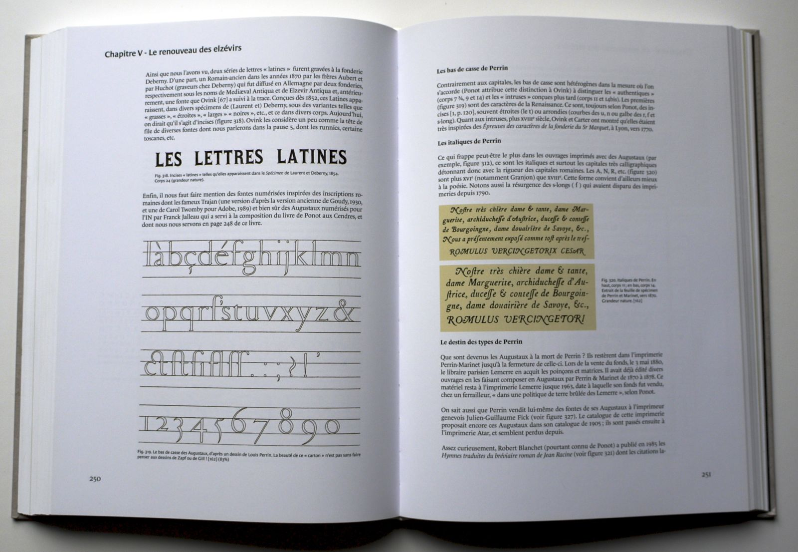 History Of Typographic Writing The 19th Century French