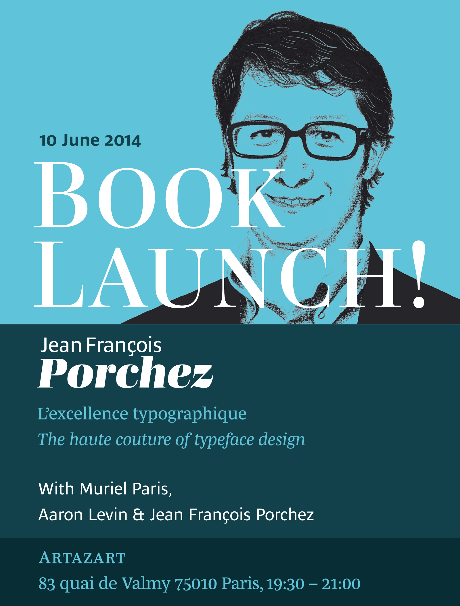 Book launch: Jean François Porchez's Monograph
