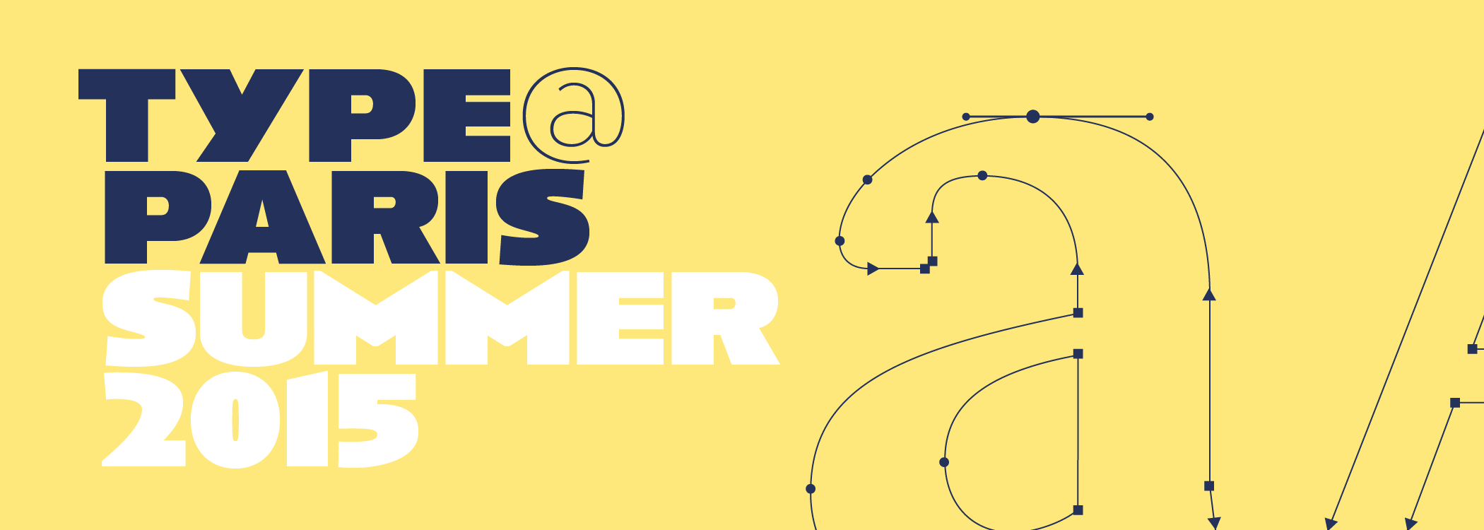 Type@Paris: apply to the summer 2015 typeface design program in Paris