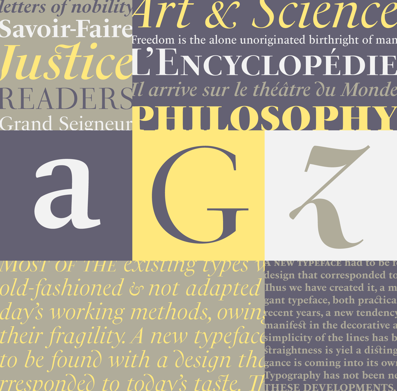 PS Fournier: A tribute to the French modern typography era by Stéphane Elbaz