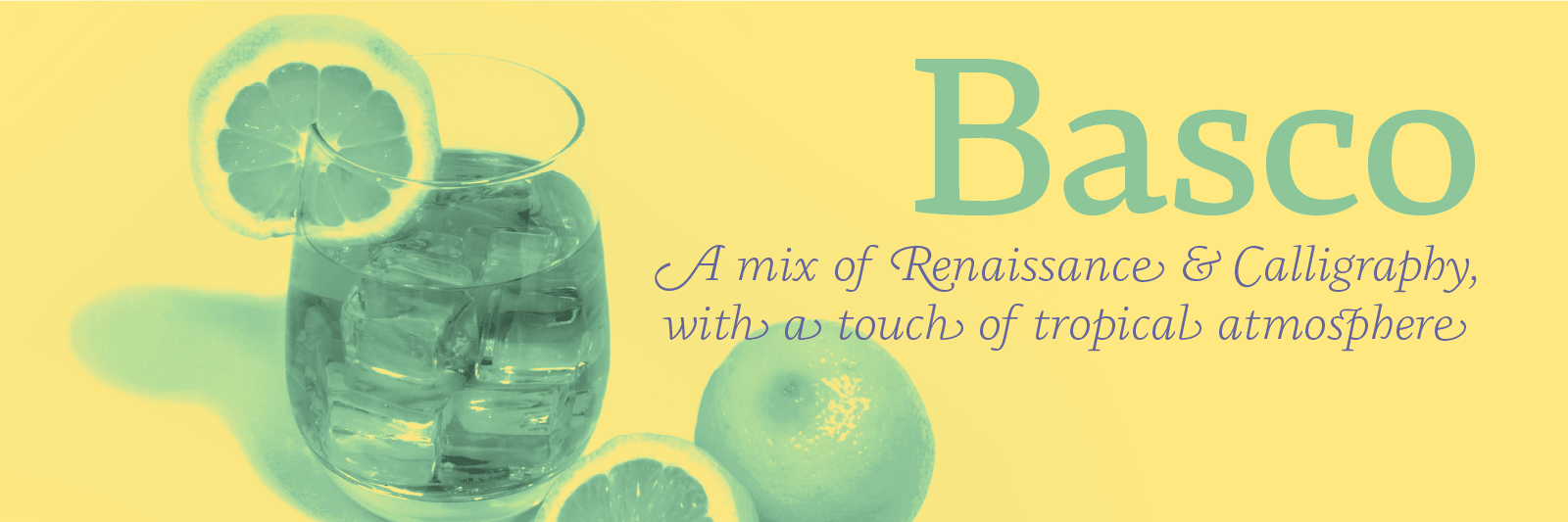 Basco, a mix of Renaissance & tropical atmosphere by Bruno Mello