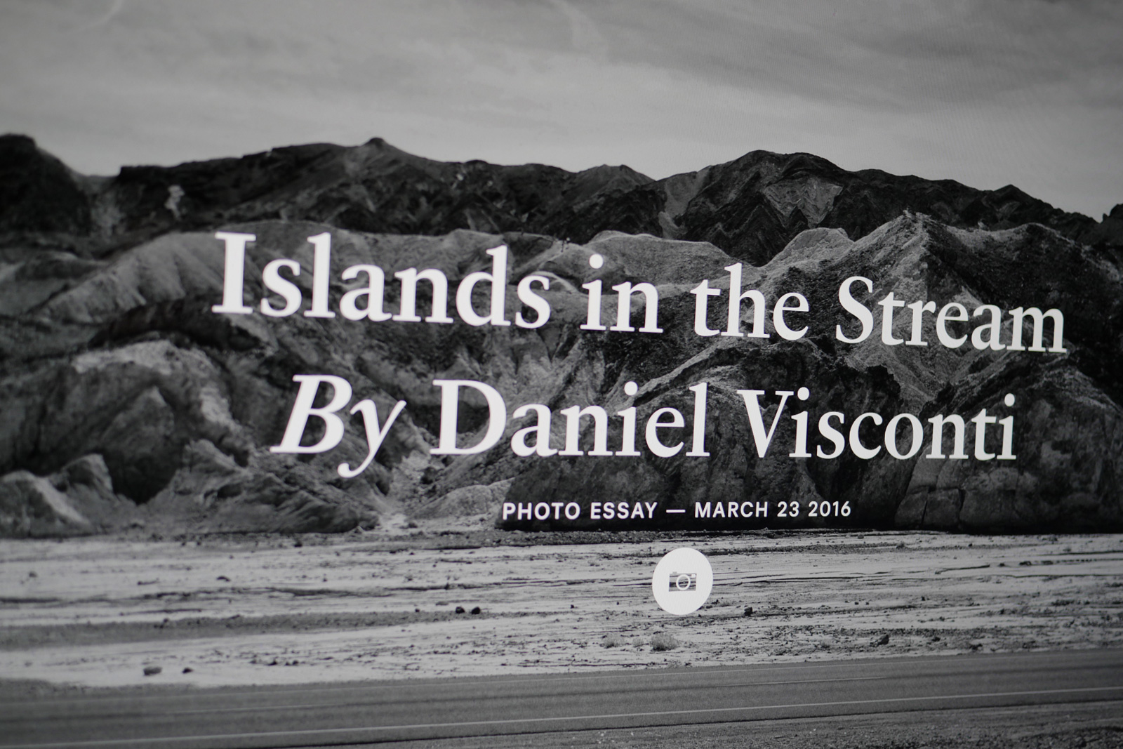 Project: cover version of Island in the stream by Daniel Visconti