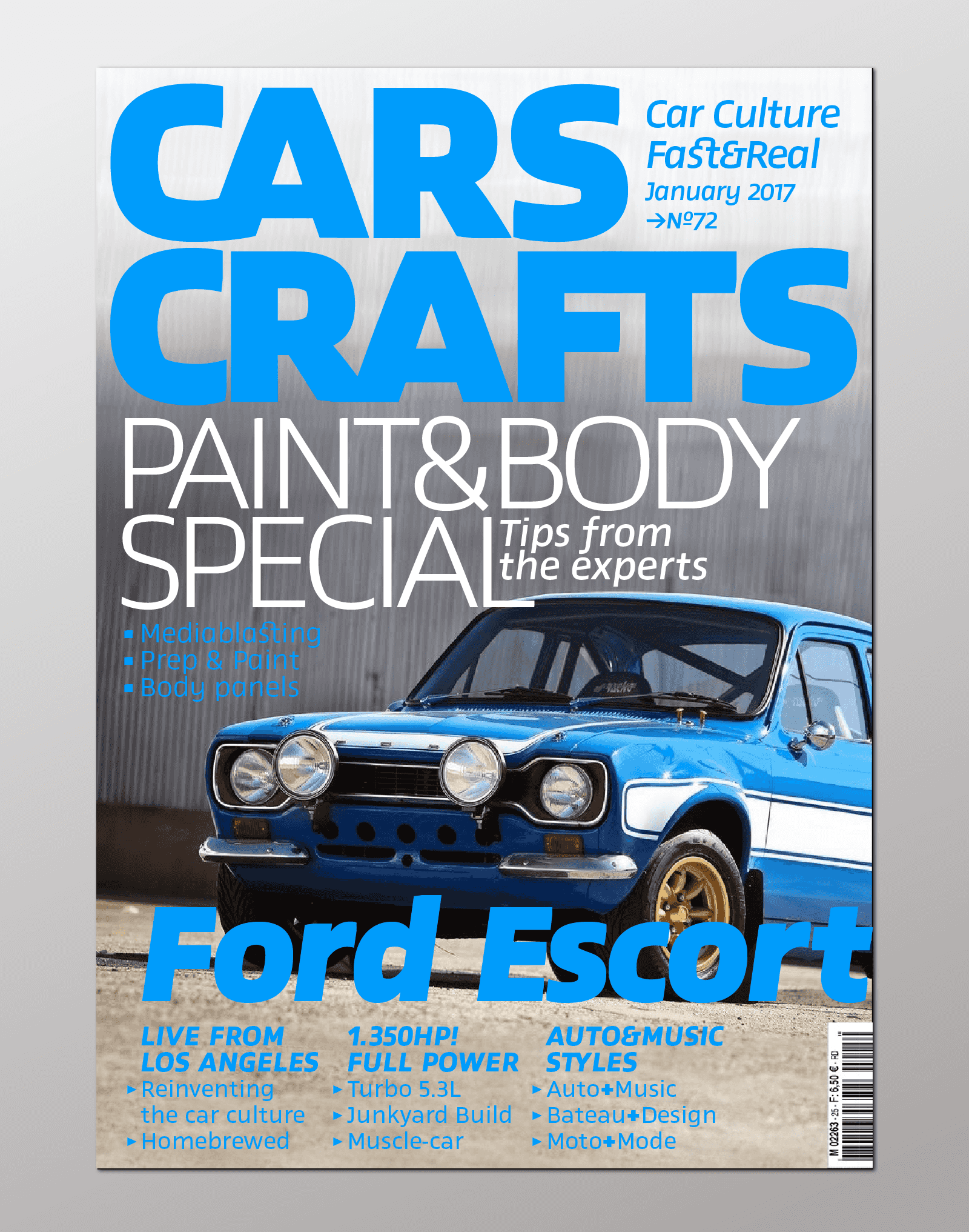Project: cover version of Cars Craft magazine