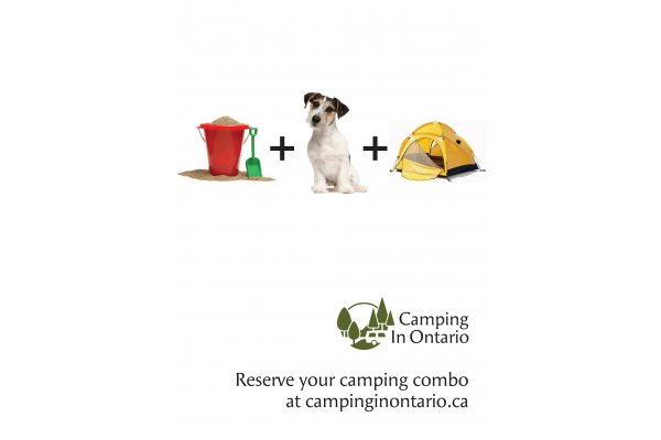 Camping in Ontario Advertisement