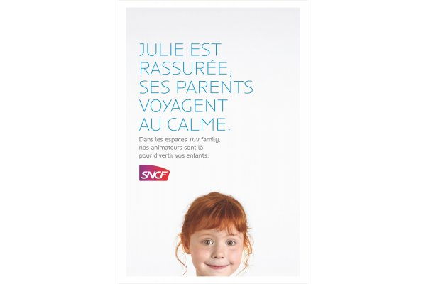 SNCF ads set in Anisette Petite