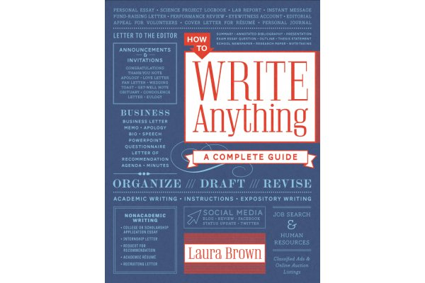 How to write anything, a complete guide
