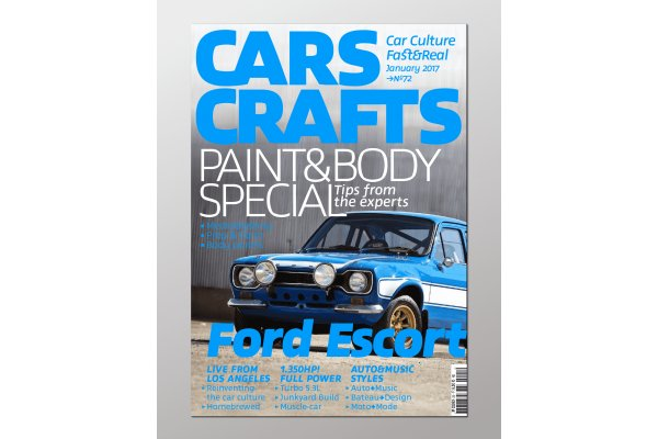 Cover version of Cars Craft magazine