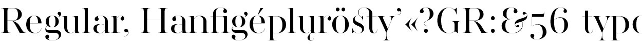 AW Conqueror Didot Large Regular