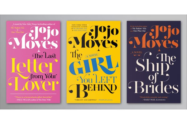 Project: Cover version of Jojo Moyes Penguins books