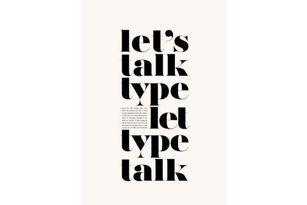 Cover version of Let's talks type let type talks